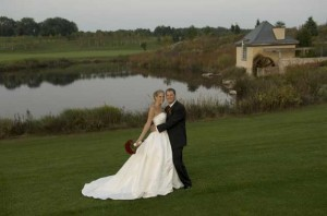Morgan and Jarred's Black And White Wedding